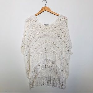 American Eagle Knitted Sweater Poncho Size XS